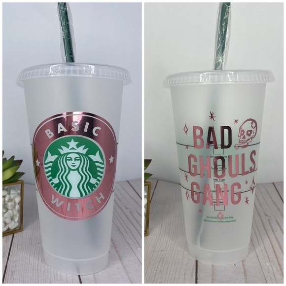 Starbucks Other - Basic Witch Reusable Starbucks Cold cup